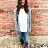 Carolena Cardigan - Gray