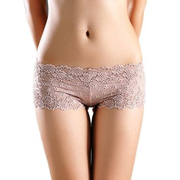Vintage Lace Panties Underwear Briefs - Multiple Colors Available