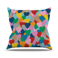 "Project M ""More Hearts"" Throw Pillow"