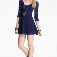 Free People Lace Minidress | Nordstrom