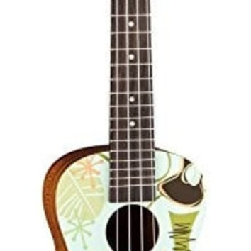 Luna UKE DADDYO Ukulele Concert with Bag