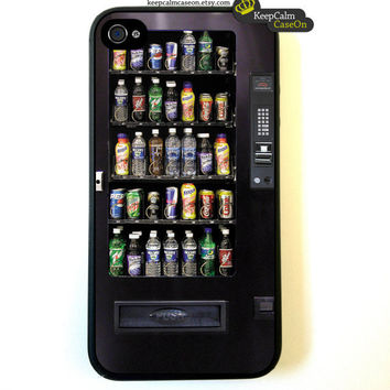 Iphone 4 Case Snack Vending Machine iPhone 4S by KeepCalmCaseOn