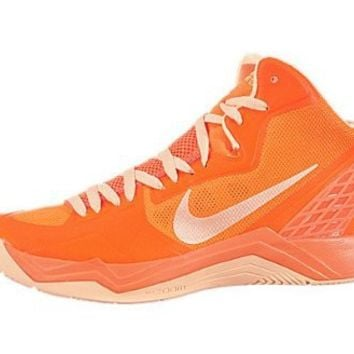 Men's Nike Zoom Hyperdisruptor Basketball Shoe Total Orange/Melon Tint (7.5, Total Orange/Melon Tint)