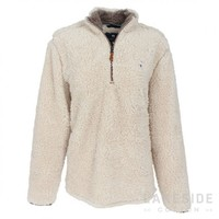 1/4 Zip Sherpa Pullover | Lakeside Cotton