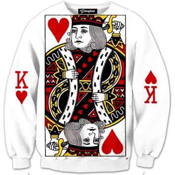 King of Hearts Crewneck