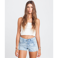 Billabong Women's Memory Clean Finished Denim Short