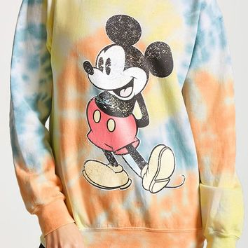 Disney Mickey Mouse Tie-Dye Sweatshirt