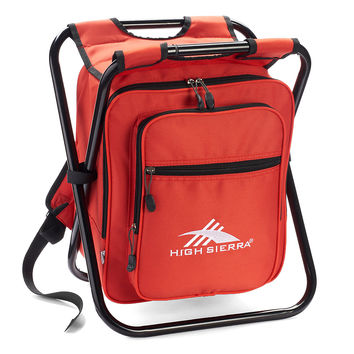 High Sierra Cooler Backpack Chair