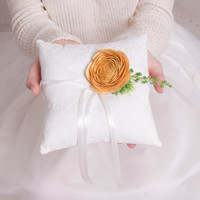 Wedding Rings Cusion For Ring Bearer Pillow Accessory Bridal Wedding Decoration bridesmaid accessory ring holder wedding gift