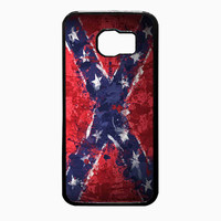 Confederate Rebel Flag Painting 22fd7cfd-fc26-4790-8323-6e95add6e1fc FOR Samsung Galaxy S6 REGULAR CASE *02*