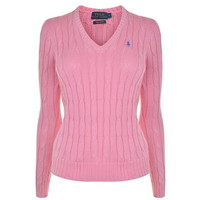 Kimberley V Neck Knit Jumper