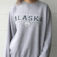 """University of Alaska"" Vintage Sweatshirt"