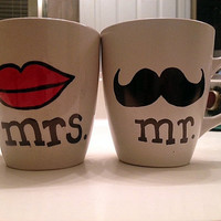 Mr. and Mrs. Mugs - Free Shipping