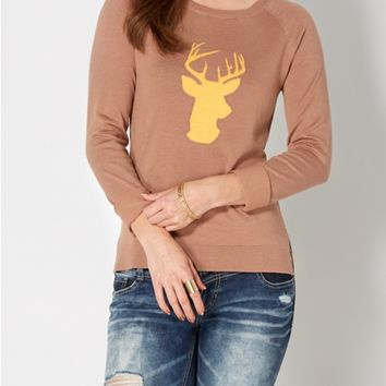 Hold Me Deer Sweater