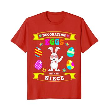 Dabbing Easter Bunny T-Shirt for Aunt & Uncle Easter Dab