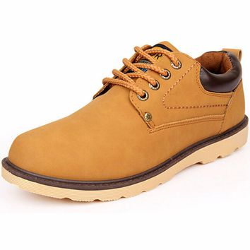 2017 Men Casual Shoes Made Of Good PU England Style Male Fashion Shoes Zapatos Hombre Chaussure Homme Man Leather Shoes A06