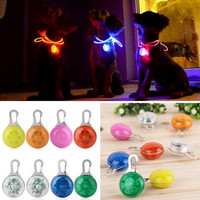 LED Flashing or Continuous Glow Safety Collar Night Light Pendant--Super Sale--Free Right Now!!!