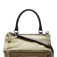 Givenchy Green Leather Medium Pandora Sugar Shoulder Bag