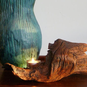 Divine Driftwood Angel Wing Candle Holder makes a perfect birthday or wedding gift!