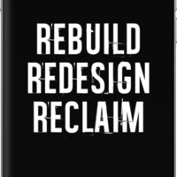 'Reclaim' iPhone Case/Skin by Ebhagz