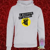 5sos shirt 5 second of summer heppy hoodie in heppy new year and merry christmas.