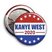 KANYE WEST for American President 2020 Button Badge / Pinback - 25mm 1 inch USA