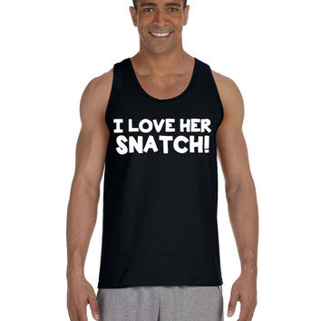 Crossfit Tank WOD - I Love Her Snatch  - Workout Clothes Funny Fitness Tank - Weight Lifting