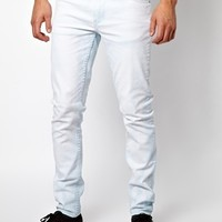 Cheap Monday Tight Jeans in Drift Bleach