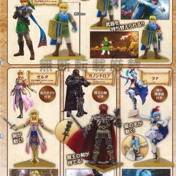 Takara Legend of Zelda Musou Hyrule Warriors Figure Set of 4 Ganondorf Link Lana