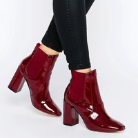 New Look Chelsea High Patent Boots