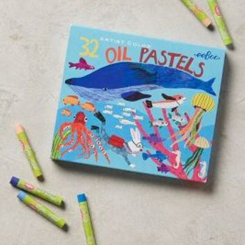 Ocean Life Oil Pastels by Anthropologie in Sky Size: One Size Gifts