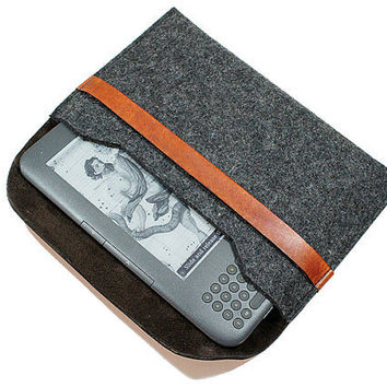 Stylish Kindle Felt Sleeve