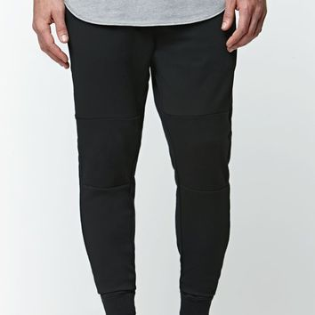 On The Byas The Drop Fit Mesh Jogger Pants - Mens Pants - Black