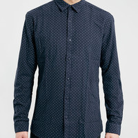 SElECTED HOMME NAVY SHIRT - New This Week - New In - TOPMAN USA