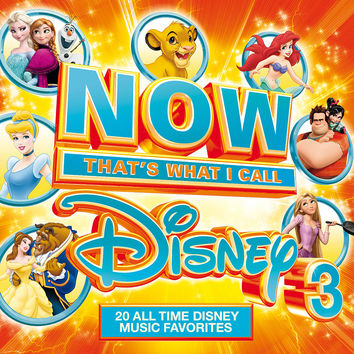 NOW That's What I Call Music Disney-3 CD