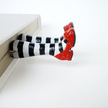Wicked Witch Bookmark- Wizard of Oz Inspired - Christmas Holiday Gift, Birthday - Fun and Unique Bookmarks