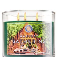3-Wick Candle Harvest Gathering