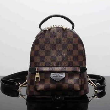 Louis Vuitton Fashion Shoulder Bag Bookbag Backpack Daypack-3