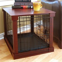Merry Products Large Pet Cage (Brown)