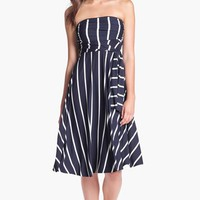 Women's Elan Stripe Convertible Cover-Up Dress,