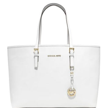 MICHAEL Michael Kors Medium Jet Set Multifunction Saffiano Tote