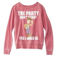 Disney Juniors Toy Story Sweatshirt - Washed Red