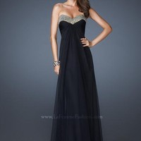 La Femme Dress 18566 at Peaches Boutique