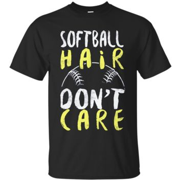 TS Limited Edition - Softball Hair Ultra Cotton T-Shirt