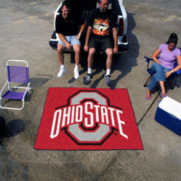 "Ohio State Tailgater Rug 60""x72"""