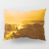 Indonesian Sunrise Pillow Sham by JCarol