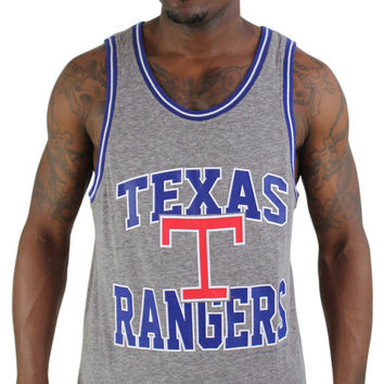 Mitchell & Ness Texas Rangers Men's Retro Tank Top Shirt