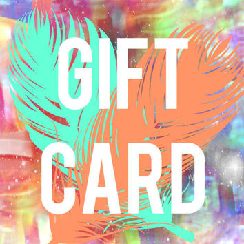 GIFT CARD - 20 USD - Redeemable for Anything Here at Sharee Boutique - Perfect for Last Minute Easter Present