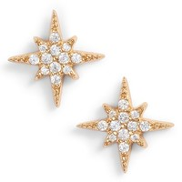 Argento Vivo North Star Crystal Stud Earrings | Nordstrom