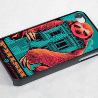 Dolla Dolla Bill Sloth monster - iPhone 4 Case / iPhone 4S Case / iPhone 5 Case